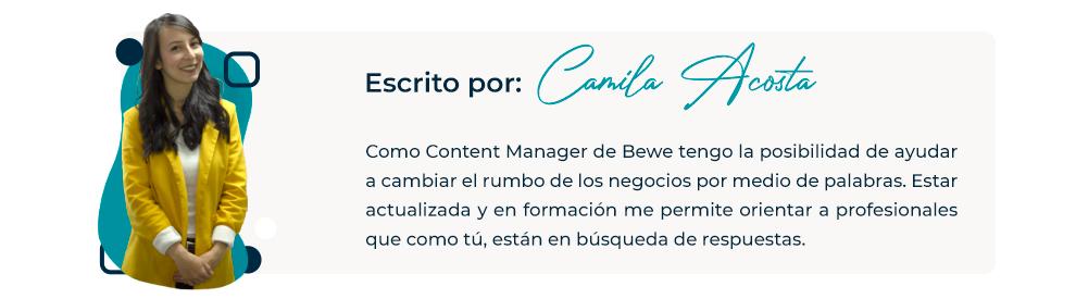 Camila Acosta Bewe